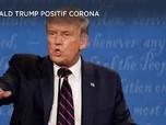 Waduh! Donald Trump & Istri Umumkan Positif Corona
