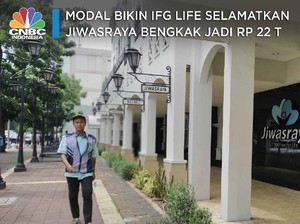 Modal Bikin IFG Life Selamatkan Jiwasraya Bengkak Jadi Rp22 T