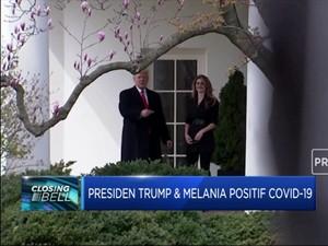 Positif Covid-19, Trump dan Istri Mulai Proses Karantina