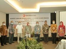 Saham Bank Banten Ngamuk, Melesat 34% & Transaksi Rp 710 M