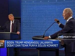 Usai Debat Perdana, Trump & Biden Masih Saling Sindir