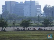 Minggu Pagi, Menhub Kunker Sambil Sepedaan di BSD City