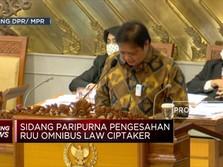 UU Ciptaker Bisa Jadi Penarik Investasi ke Indonesia, Tapi...