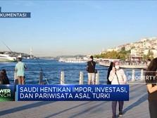 Perang Dagang, Arab Saudi Boikot Turki