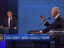 Usai Debat, Biden Ungguli Trump