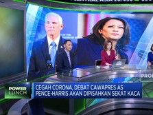 Antisipasi Corona, Debat Cawapres AS akan Pakai Sekat Kaca