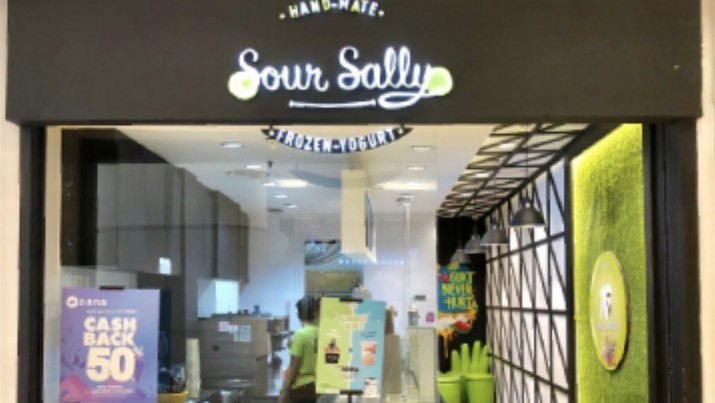 Outlet Sour Sally. Ist