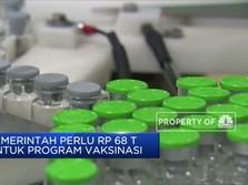 Pemerintah Perlu Rp 68 Triliun untuk Program Vaksinasi