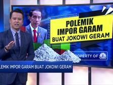 Polemik Impor Garam Buat Jokowi Geram