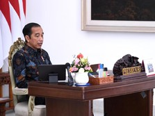 Live Now! Akhirnya Jokowi Bicara Soal Omnibus Law Cipta Kerja