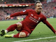 Pemain Liverpool Xherdan Shaqiri Positif Terjangkit Covid-19