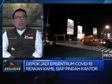 Awasi Penanganan Episentrum Covid-19, RK Berkantor di Depok