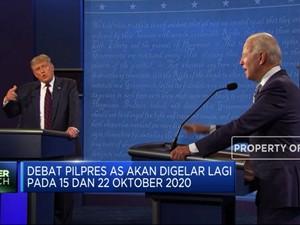 Biden Ogah Debat Pilpres AS Kalau Trump Masih Positif Corona