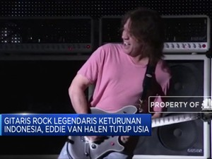 Gitaris Rock Legendaris Eddie Van Halen Tutup Usia