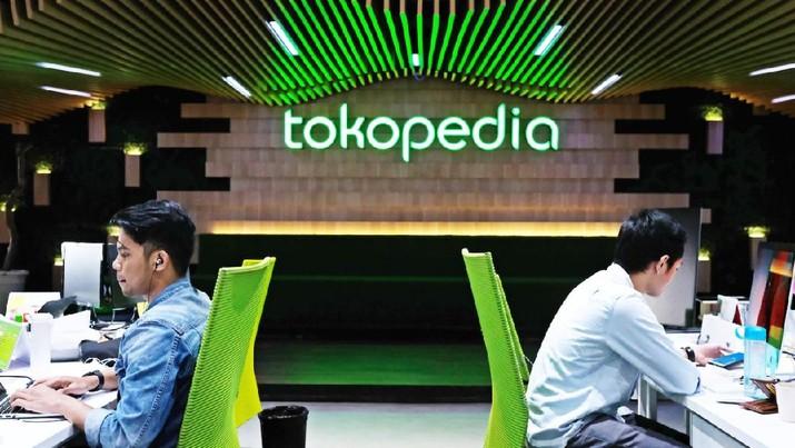 Penghargaan 'Best Companies to Work For' yang diterima Tokopedia, diberikan atas penilaian karyawan berdasarkan metode survei Total Engagement Assessment Model (TEAM) yang disusun oleh HR Asia. (Dok: Tokopedia)