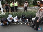 Jelang Demo di Depan Istana, Puluhan Orang Diamankan Polisi