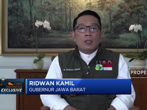 Ridwan Kamil: Bodebek Sumbang 70% Kasus Covid-19 Jabar