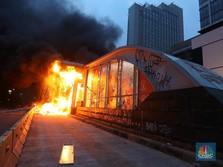 8 Halte Transjakarta Dibakar, Rp 45 M Lenyap Dalam Sehari