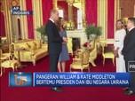 Pangeran William Bertemu Presiden Dan Ibu Negara Ukraina