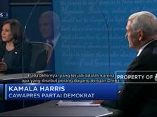 Debat Cawapres AS, Harris Serang Pence Soal Covid-19