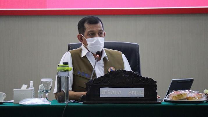 Doni Monardo Apresiasi Upaya Pengendalian COVID-19 di Sulawesi Utara. (Dok :BNPB)