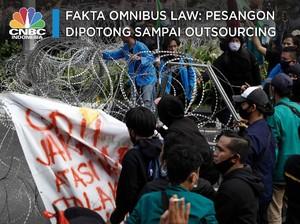 Fakta Omnibus Law: Pesangon Dipotong Sampai Outsourcing