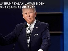Kalau Trump Kalah Lawan Biden, Nasib Harga Emas Gimana?
