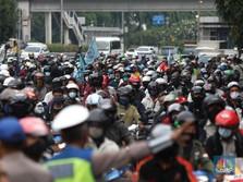 Demo Ricuh UU Ciptaker, Rupiah Dihajar Dolar Singapura