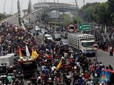 Satu Tahun Jokowi-Ma'ruf Amin, Buruh Siap Demo Besar-besaran