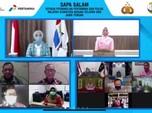 Pertamina- Polri-YKB Salurkan 542 Laptop ke 34 Provinsi