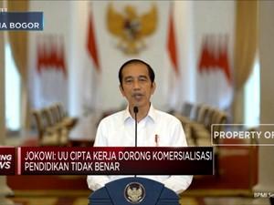 Jokowi: Disinformasi & Hoax Sebabkan Demo Tolak UU Ciptaker