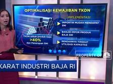 Karat Industri Baja RI