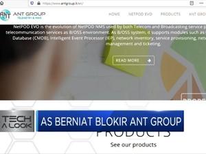 Setelah Wechat dan Tiktok, Kini AS Berniat Blokir Ant Group