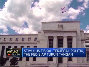 Stimulus Fiskal Terjegal Politik, The Fed Siap Turun Tangan