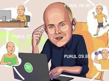 Begini Ritual Pagi Crazy Rich Pendiri Spotify Daniel Ek