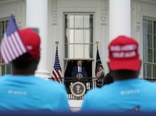 Trump Apes Nih, Duit Kampanye Susut Banyak Jelang Pemilu