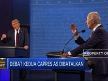 Debat Kedua Capres AS di 15 Oktober 2020 Dibatalkan