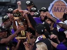 LA Lakers Juara NBA Saat Corona, Kejar Rekor Boston Celtics