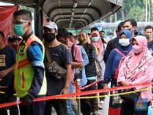 Usai Long Weekend, Pengguna KRL Bekasi-Depok Naik, Bogor Drop