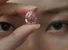 Dahsyat! Berlian Langka Merah Muda, Harganya Rp 566 Miliar!