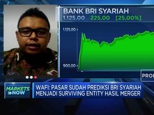 Jadi Surviving Entity Merger Bank Syariah, Saham BRIS Melesat