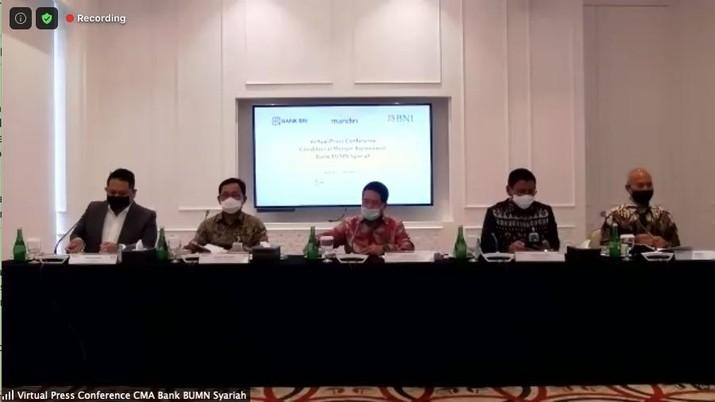 Konferensi Pers CMA Bank BUMN Syariah