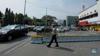 Demo BEM SI 16 Oktober 2020, Lalin Sekitar Istana Ditutup