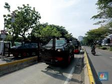Istana Dijaga Ketat Jelang Demo Mahasiswa Tolak Omnibus Law