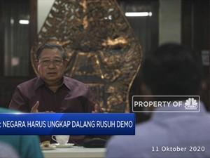 SBY: Negara Harus Ungkap Dalang Rusuh Demo