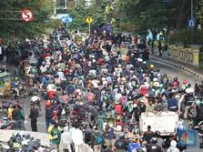 Duh! Demo Mulai Rusuh di Jakarta Pusat Hari Ini