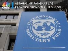 Astaga! IMF Pangkas Lagi Proyeksi Ekonomi RI Jadi -1,5%