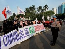 Lanjut, Gerakan Buruh Jakarta Besok Demo Tolak Omnibus Law