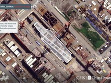 Diam-diam China Bakal Punya Kapal Induk ke-3, Siap Lawan AS?
