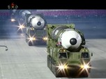 Sangar! Penampakan Truk Pembawa Rudal 'Monster' Korea Utara